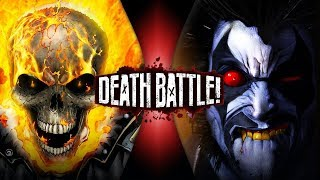 Ghost Rider VS Lobo (Marvel VS DC) | DEATH BATTLE!
