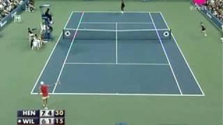 Justine Henin vs Serena Williams QF 2007 11/11