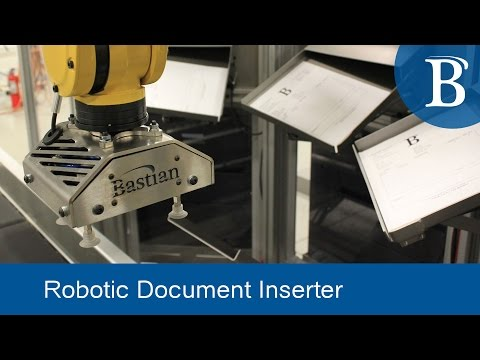 Robotic Print Inserter