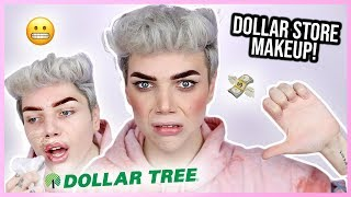 FULL FACE OF DOLLAR STORE MAKEUP! *Fail*