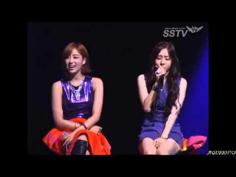 T-ara Jiyeon massive aegyo, Areum aegyo, Danee bbuing bbuing @ fanclub inaugaration
