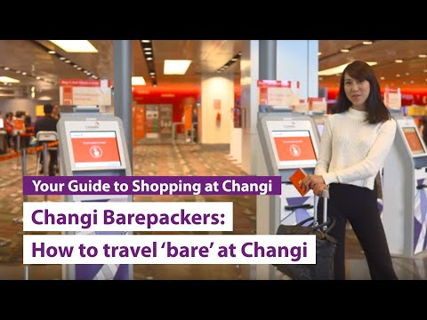 You can be a #ChangiBarepacker too!