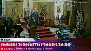 Sf. Liturghie la Intrarii in Biserica a Maicii Domnului