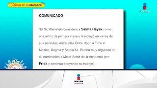 ¡Harvey Weinstein responde a las acusaciones de Salma Hayek!   Sale el Sol
