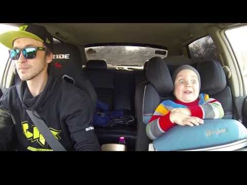 Dad Delights Son With Fancy Driving