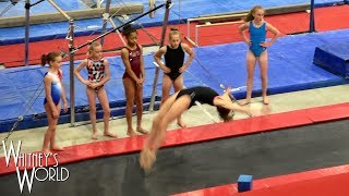 Double Full | Gymnastics Without Arms | Whitney Bjerken