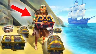WE FOUND $1,000,000 IN TREASURES! (Sea of Thieves)