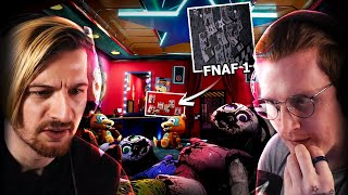 WE FOUND A LINK TO FNAF 1 IN SECURITY BREACH!