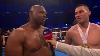 POST FIGHT: Dillian Whyte defeats Joseph Parker in unanimous decision