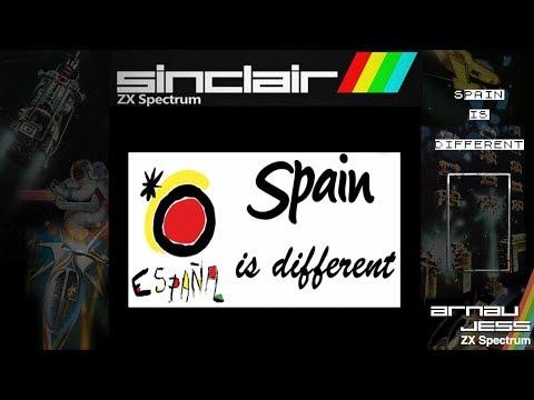 SPAIN IS DIFFERENT en Zx Spectrum