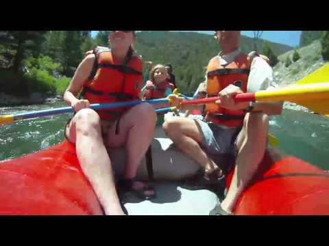 Rafting in Sun Valley Idaho with Sawtooth Adventure Company