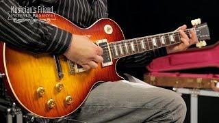 Gibson 2014 1959 Les Paul Reissue Electric Guitar, Burnt Wheat Burst