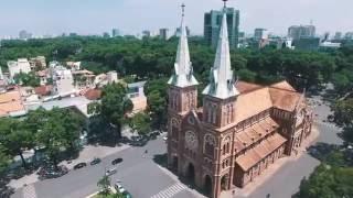 Thành phố Hồ Chí Minh tuyệt đẹp dưới góc nhìn flycam