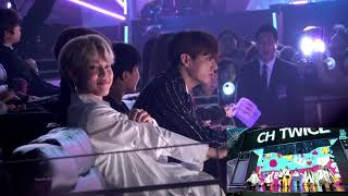 1106 MGA Awards BTS during Twice stage