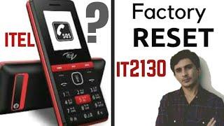 itel all keypad phone hard reset forget password mp4 - Shankar Lal