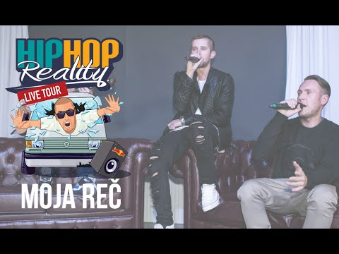 HIPHOP REALITY #35 LIVE - Moja Reč |SPECIAL|