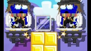 Growtopia   Making Blue Crystal Wings!