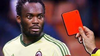 """Những chiếc thẻ đỏ """"hài hước"""" nhất bóng đá"""