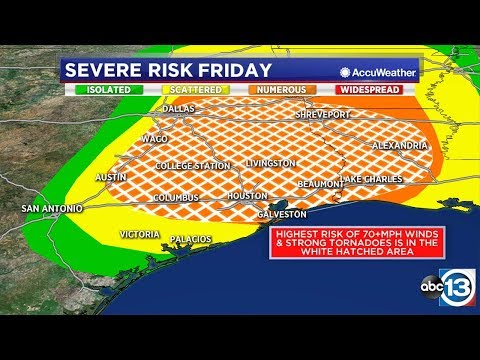 WATCH NOW: What to know ahead of severe weather threat