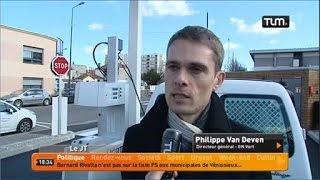Inauguration de la station GNV de Villeurbanne