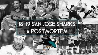 San Jose Sharks 2019 Postmortem