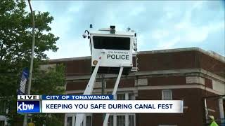 How police keep Canal Fest visitors safe