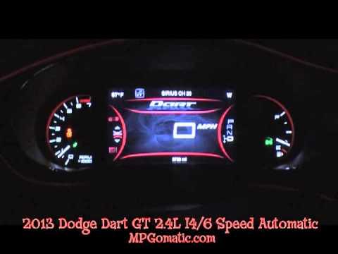 2013 dodge dart gt 2 4l 0 60 mph youtube. Black Bedroom Furniture Sets. Home Design Ideas