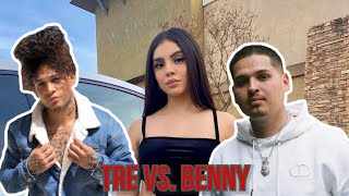 Tre versus Benny with Evelyn!