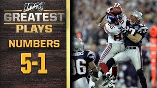 100 Greatest Plays: Numbers 5-1   NFL 100