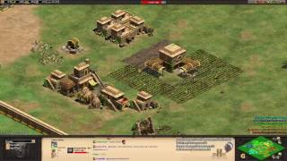 Aoe2 HD: Rise of the Rajas Expansion - Arena Gameplay
