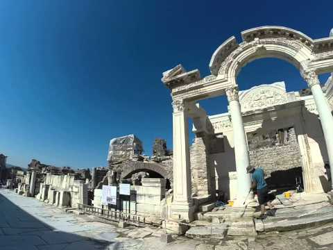Ancient City Ephesus Turkey,