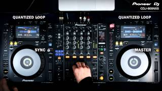 Take a look PIONEER DJ CDJ-900NXS Professional Multi-Player - Supports CD, MP3, USB in action - video 2