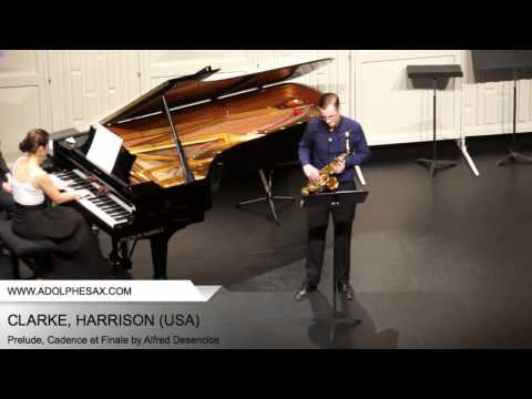 Dinant 2014 - CLARKE, Harrison (Prelude, Cadence et Finale by Alfred Desenclos)