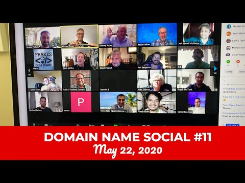 Michael Cyger's Domain Name Quarantine Social #11 (May 22, 2020)