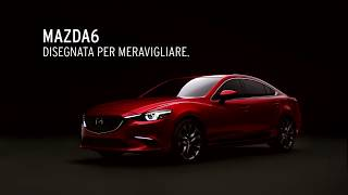 Mazda6. Disegnata per meravigliare.