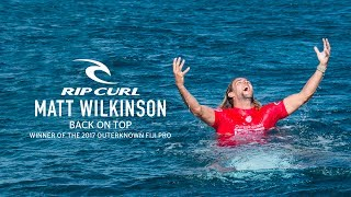 Congratulations Matt Wilkinson | 2017 Outerknown Fiji Pro Champion