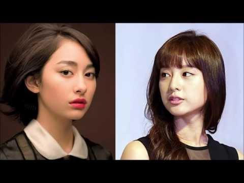 日本&韓国 似てる女性たち Japanese&Korean Similar Women