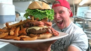 Titanic Burger Eating Challenge in 1:50