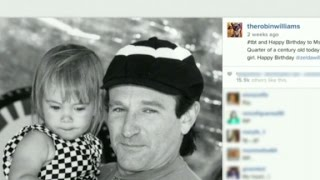 Robin Williams' final tweet
