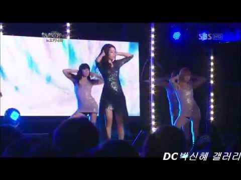 Park sin-hye K-POP 콜렉션 in 오키나와.121101
