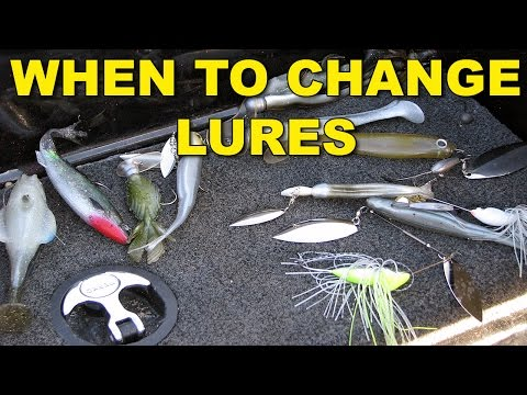 When To Change Lures | Bass Fishing