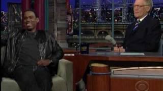 Chris Rock busts Letterman's chops.mpg