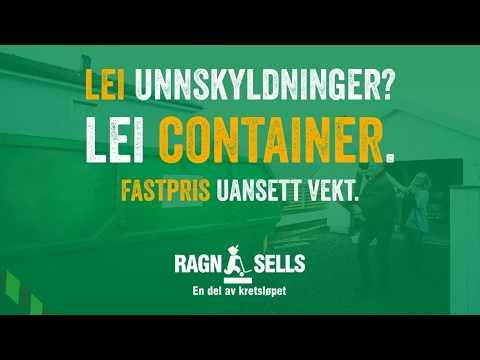 Lei unnskyldninger? Lei container.