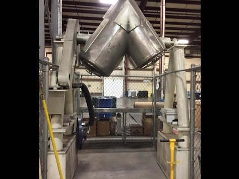Used- Patterson Kelley Twin Shell V Blender - stock # 48782003