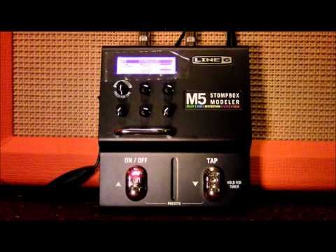 Line 6 M5 Demo - Filters