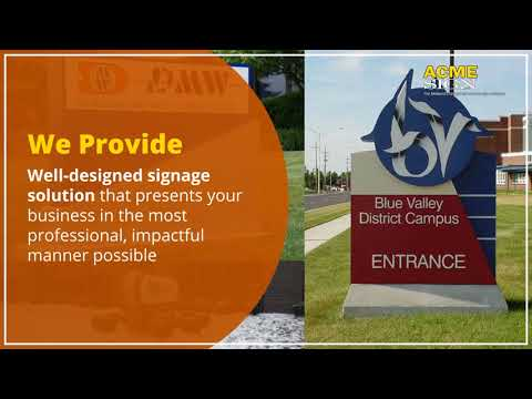 Midwest's Largest Full Service Sign Company
