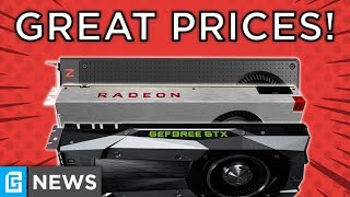 GPU Prices FINALLY Reasonable, Lower RAM Pricing Coming!