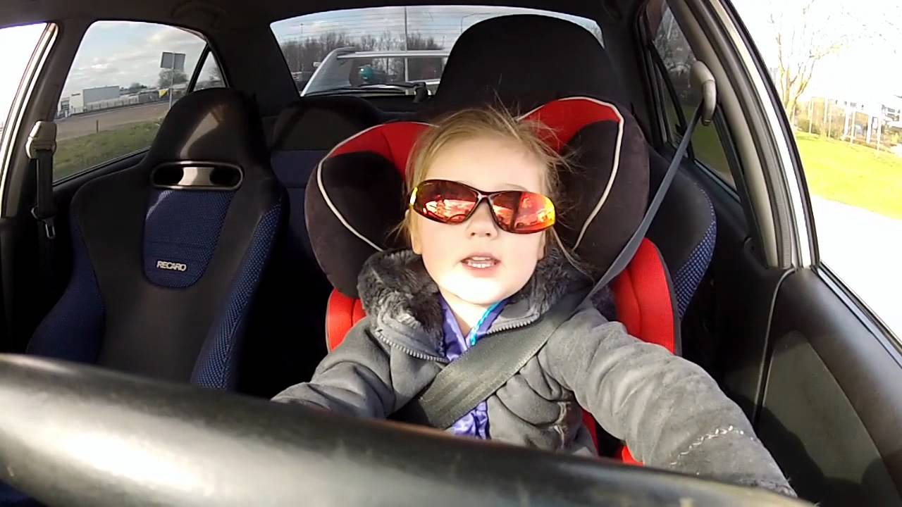 3 Year Old Driving A Mitsubishi Lancer Evo 6 With 320hp