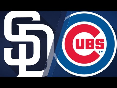 Rizzo, Baez push Cubs past Padres in 5-4 win: 8/3/18
