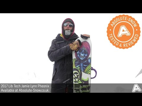 2016 / 2017 | Lib Tech Jamie Lynn Pheonix Snowboard | Video Review